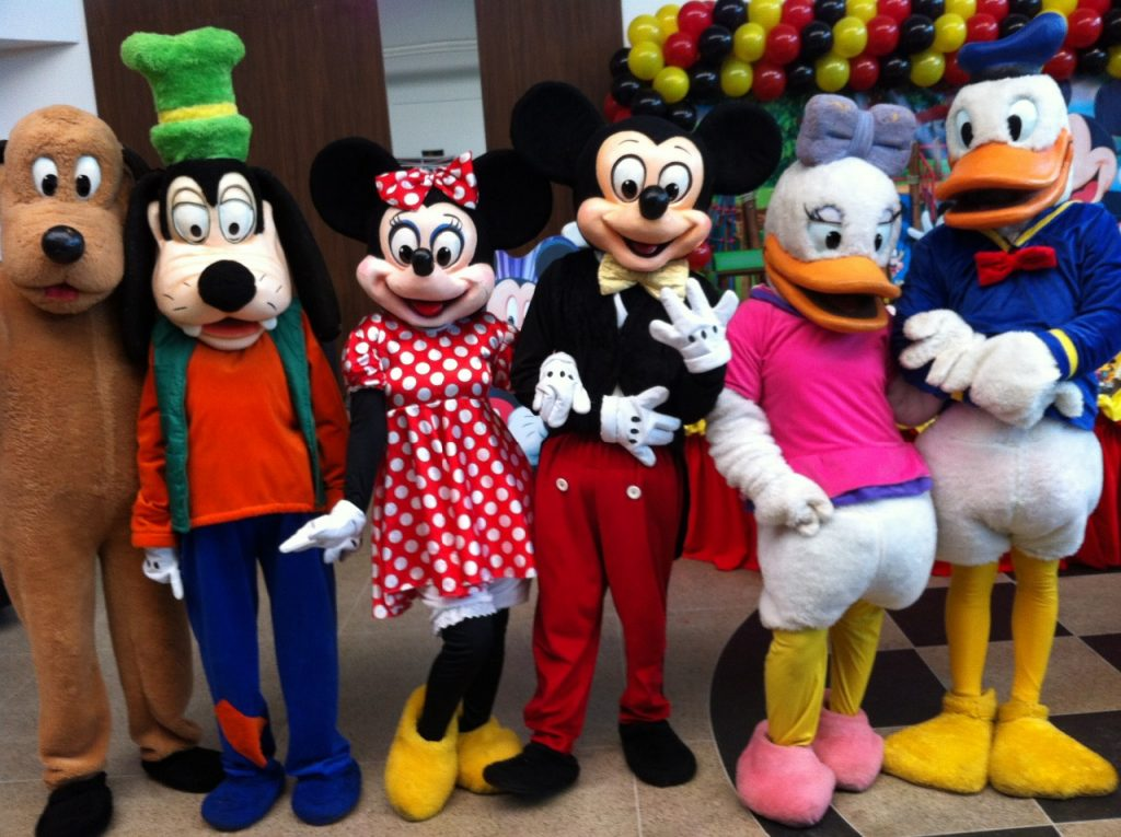 persoganes-vivos-turma-do-mickey